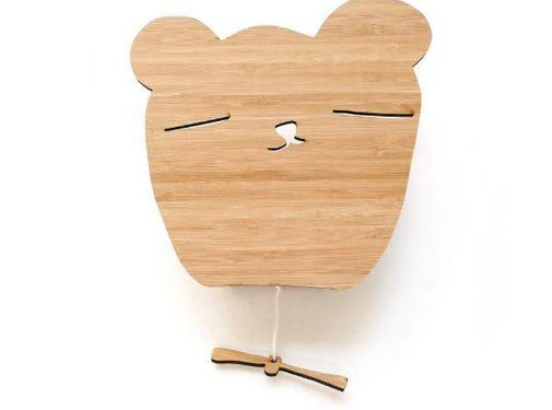 Ted&Tone Music box bear, bamboo