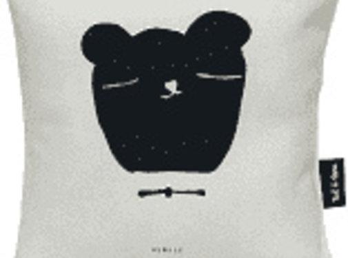 Ted&Tone Cushion, bear, grey (small)