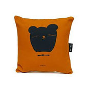 Ted&Tone Cushion, bear, orchre (small)