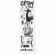 Wee gallery Growth Chart, Woodland