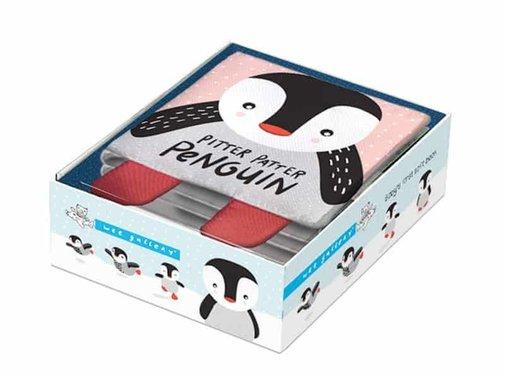 Wee gallery Zacht boekje, pinguin
