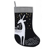 Wee gallery Christmas stocking, deer