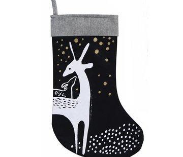 Wee gallery Christmas stocking, deer