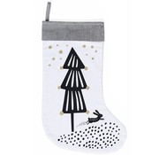 Wee gallery Christmas stocking, tree