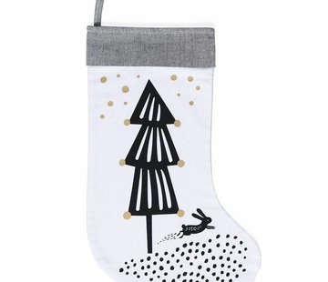 Wee gallery Christmas stocking, tree