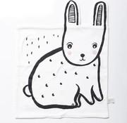 Wee gallery Knuffeldoekje, konijn