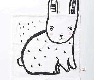 Wee gallery Cuddle blanket, bunny