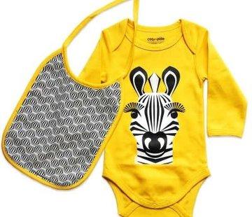 Coq en pâte Cadeauset Body lange mouwen & slab, zebra