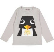 Coq en pâte T-shirt lange mouwen, pinguin