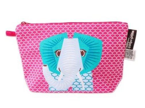 Coq en pâte Pencil case, elephant