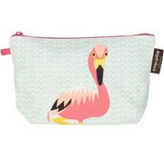 Coq en pâte Pencil case, flamingo