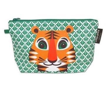 Coq en pâte Pencil case, tiger