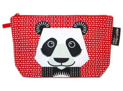 Coq en pâte Pencil case, panda