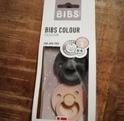 Bibs Pacifier, bibs, 0-6 m, Iron/blush