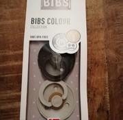 Bibs Pacifier, bibs, 0-6 m, Iron/beige