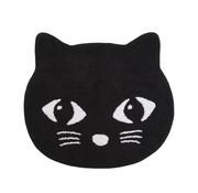 Sass & Belle Rug, black cat