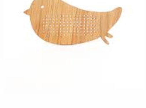 Ted&Tone Embroidery board, bird