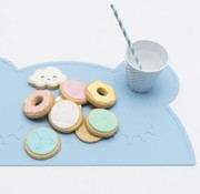 Wemightbetiny Placemat, Bear, powder blue