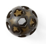 Hevea Speelbal ster, natuurrubber, zwart