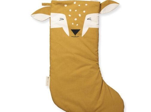 Fabelab Christmas stocking, silly fawn