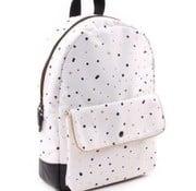 kidzroom Backpack, Black & Gold Dots