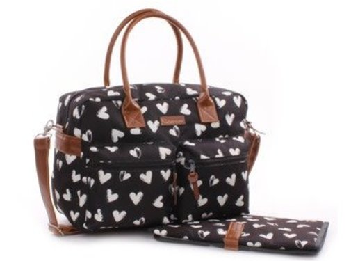 kidzroom Diaper bag, hearts