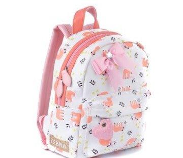 zebra Backpack, sloth