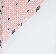 Luma Hooded towel, Peach moon