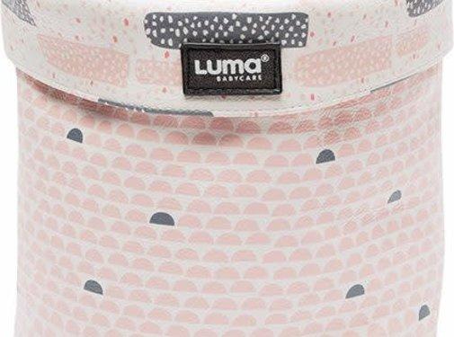 Luma Small storage basket, peach moon
