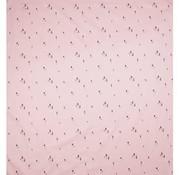 Plum Plum Sheet, cot, pink gnome