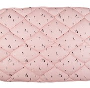 Plum Plum Box blanket, pink gnome