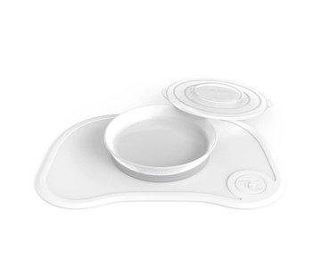 twistnshake Click placemat & plate, white