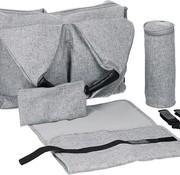 Lassig Neckline black melange (grey)