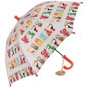 Rex London Paraplu, kleurrijke dieren