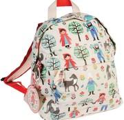 Rex London Mini backpack, red reding hood