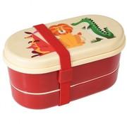 Rex London Bento box, colorful creatures