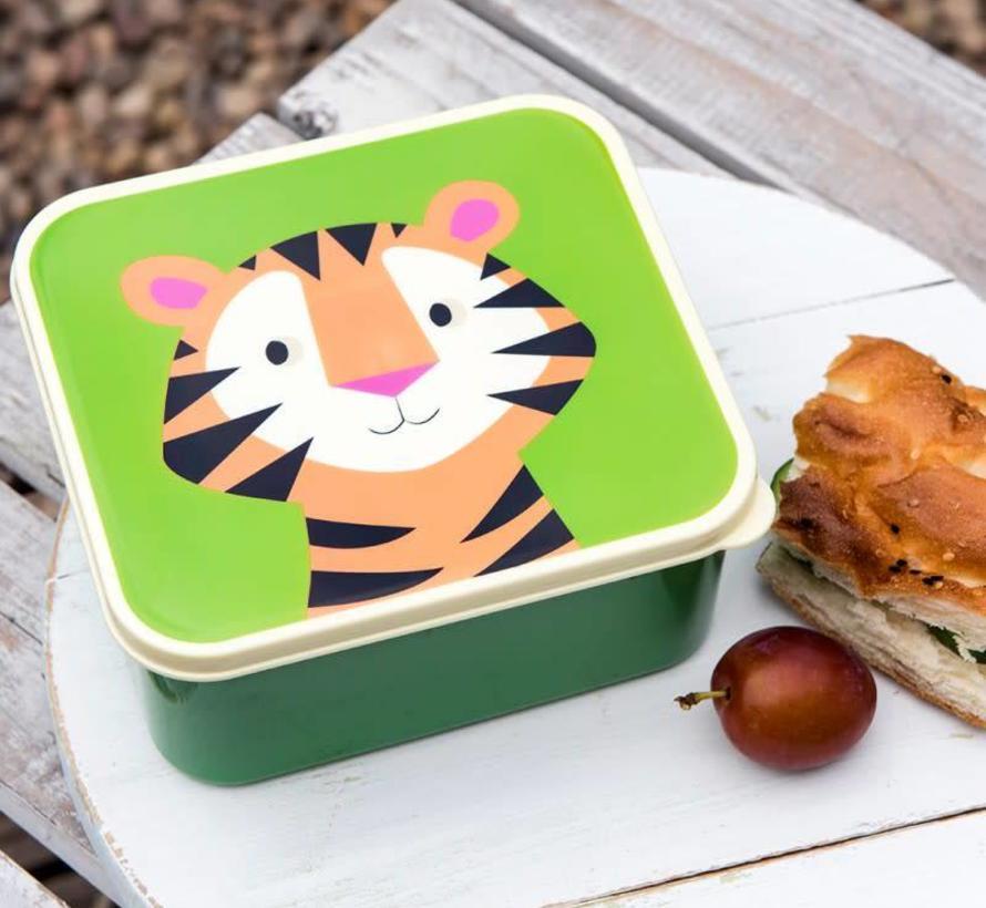 Lunch box, tiger
