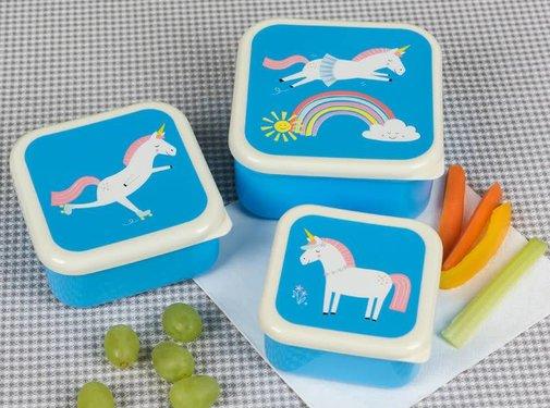 Rex London Snack boxes, unicorn, 3pcs