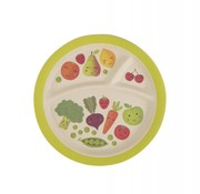 Sass & Belle Plate happy fruits & vegetables