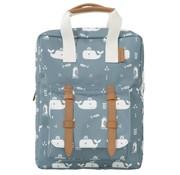Fresk Backpack blue whale