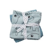 Done by Deer Swaddles small contour blue