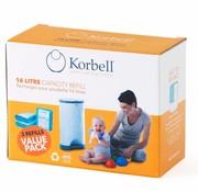 Korbell 3 pack Korbell zakjes