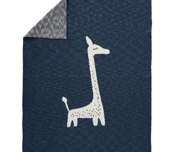 Fresk Gebreide deken Giraffe groot