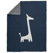 Fresk Knitted blanket, Giraffe, 100*80