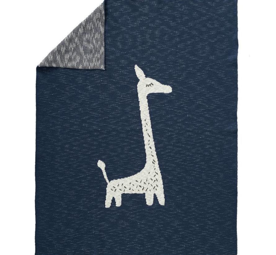 Gebreide deken Giraffe