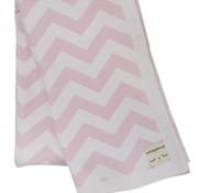 Miniroom.se Blanket, zigzag, pink