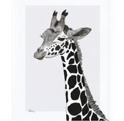 Lilipinso Frame with giraffe poster