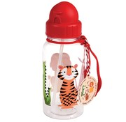 Rex London Water bottle, colorful creatures