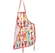 Rex London Apron, colorful creatures