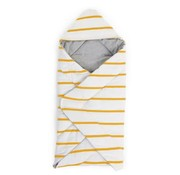 Childhome Babywrapper, orchre stripes